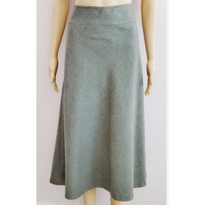 Talbots A-line Gray Wool Skirt Size Size 16